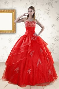 Most Popular Strapless Quinceanera Dress