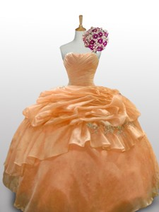 Romantic Quinceanera Dress With Paillette And Ruffled Layers