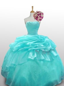 Elegant Quinceanera Dress With Paillette And Ruffled Layers