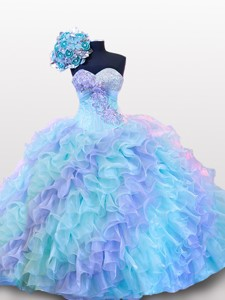 Beading And Sequins Sweetheart Quinceanera Dress