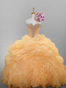 Luxurious Sweetheart Quinceanera Dress With Ruffled Layers
