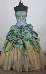Lovely Ball Gown Strapless Floor-length Quinceanera Dress