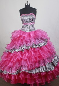 Wonderful Ball Gown Strapless Floor-length Quinceanera Dress