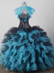 Gorgeous Ball Gown Sweetheart Floor-length Qunceanera Dress