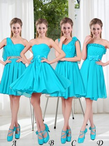 Informal Bridesmaid Dress With Ruching