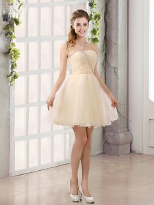 Sturning Sweetheart A Line Bridesmaid Dress With Beading