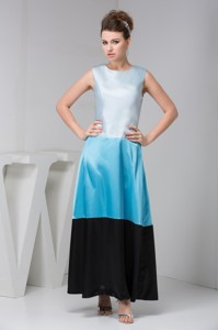 Bateau Sleeveless Mothers Dress For Weddings In Multi-colors