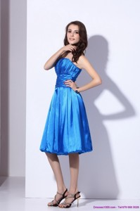 Popular Strapless Short Prom Dress With Ruching