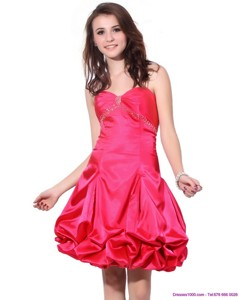 Sweetheart Pretty Prom Dress With Pick Ups And Beading